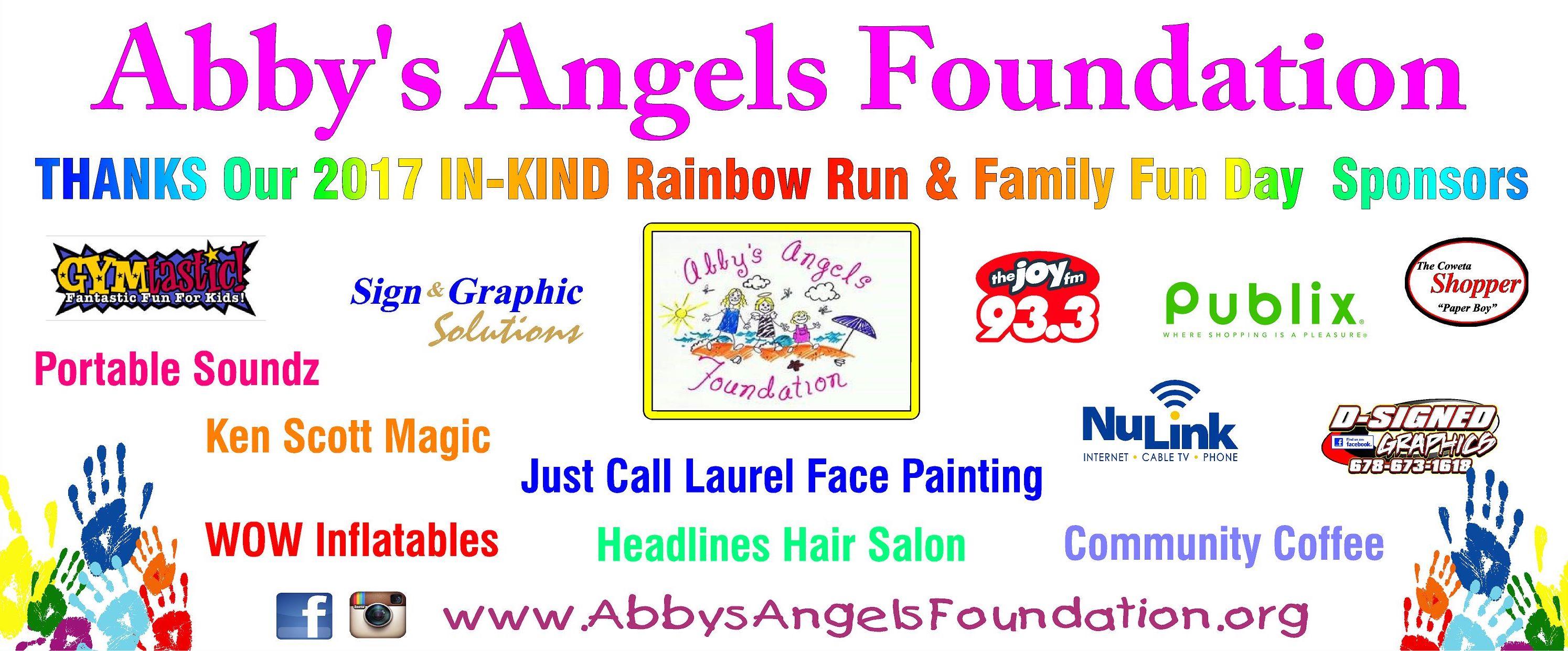 5K Rainbow Run & Family Fun Day | Abby\'s Angels Foundation